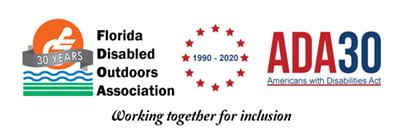ADA and FDOA 30 Year Anniversary Logo