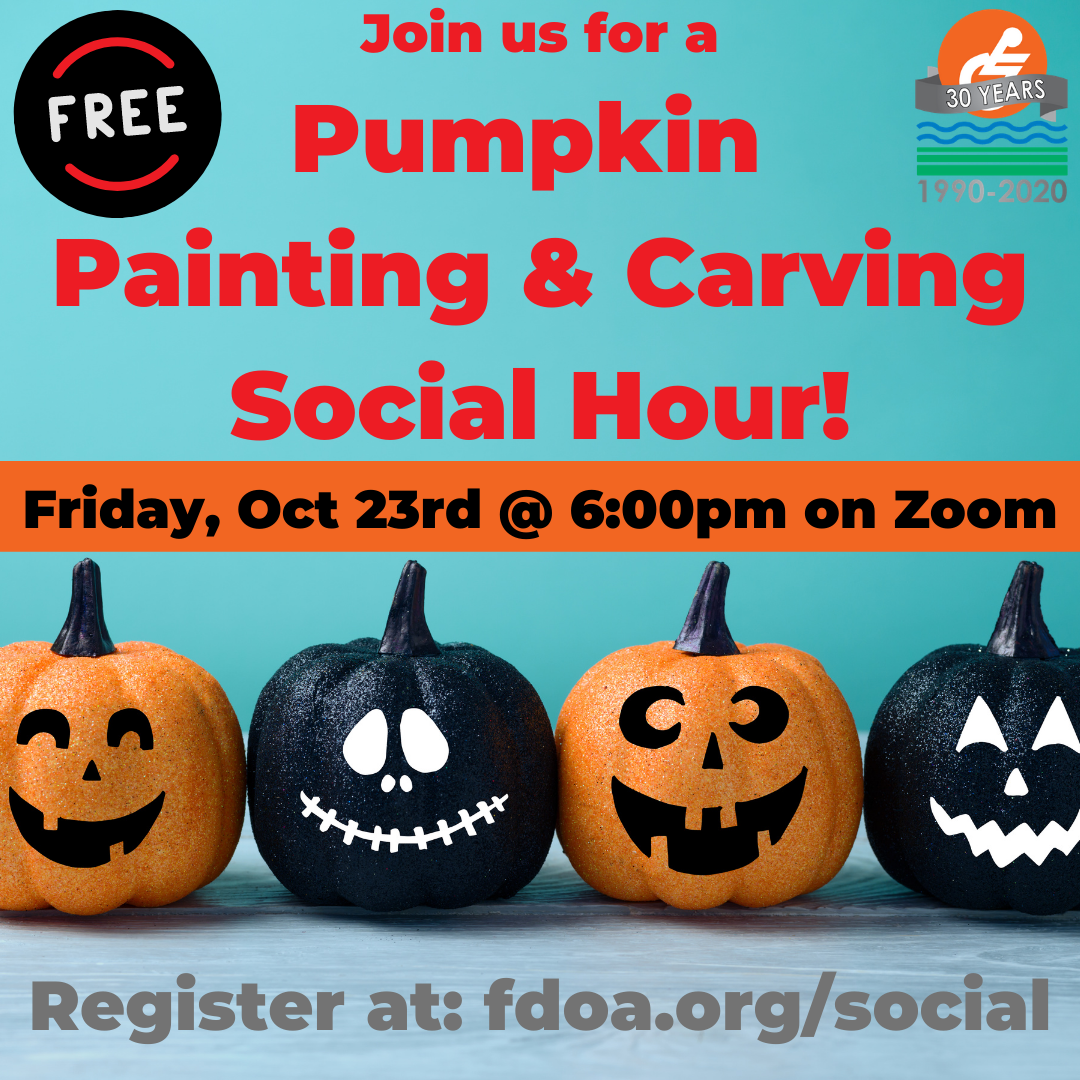 Image of October Social - Pumpkin Carving & Painting