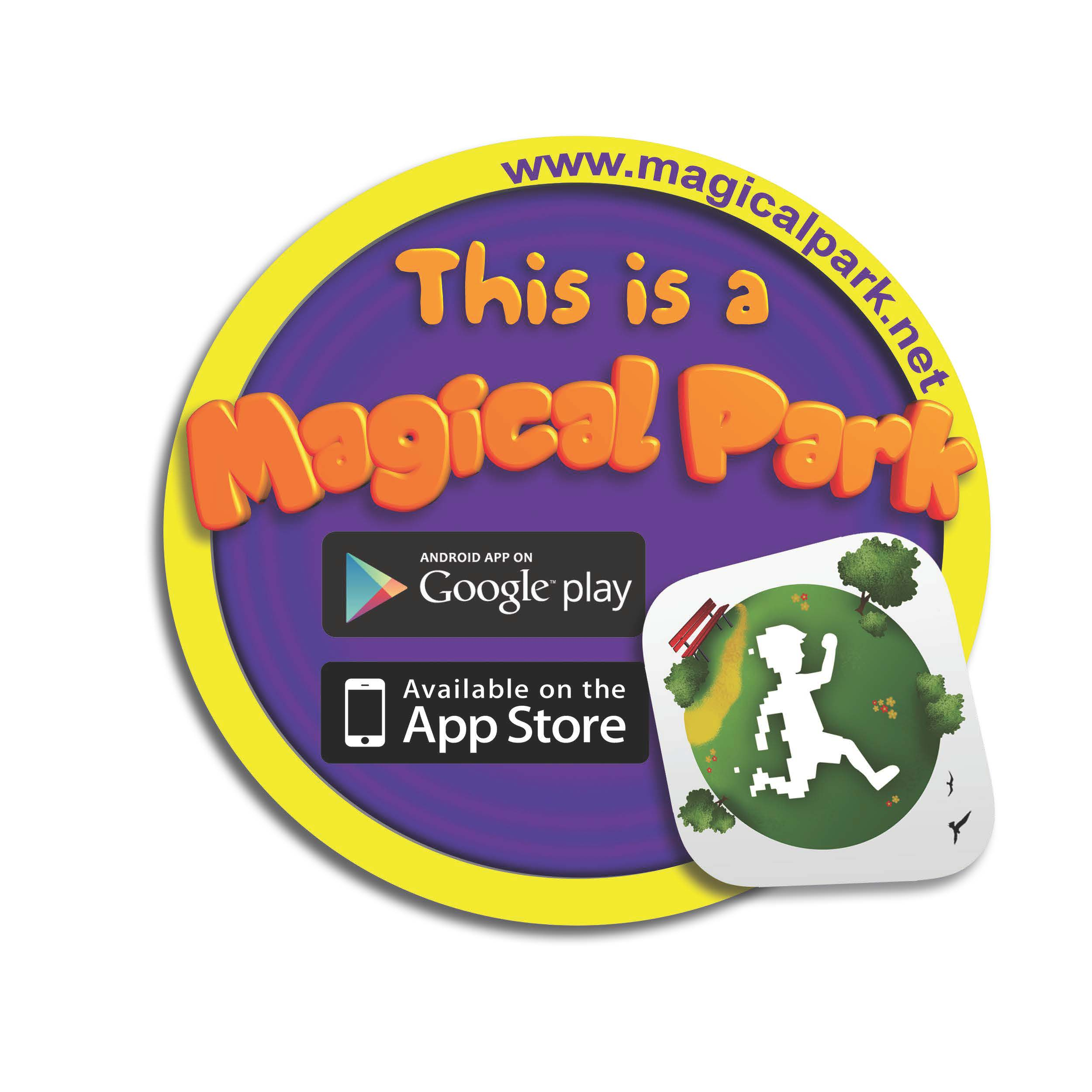 photo of the Magical Park badge