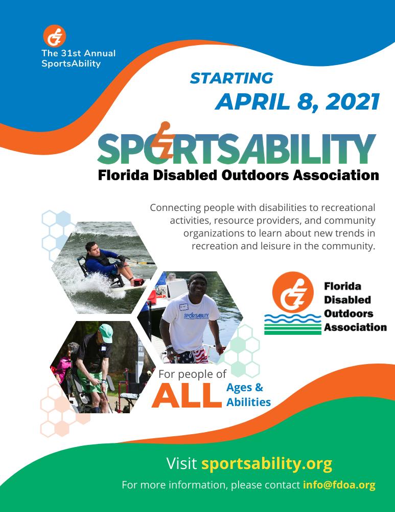 SportsAbility 2021 Flyer