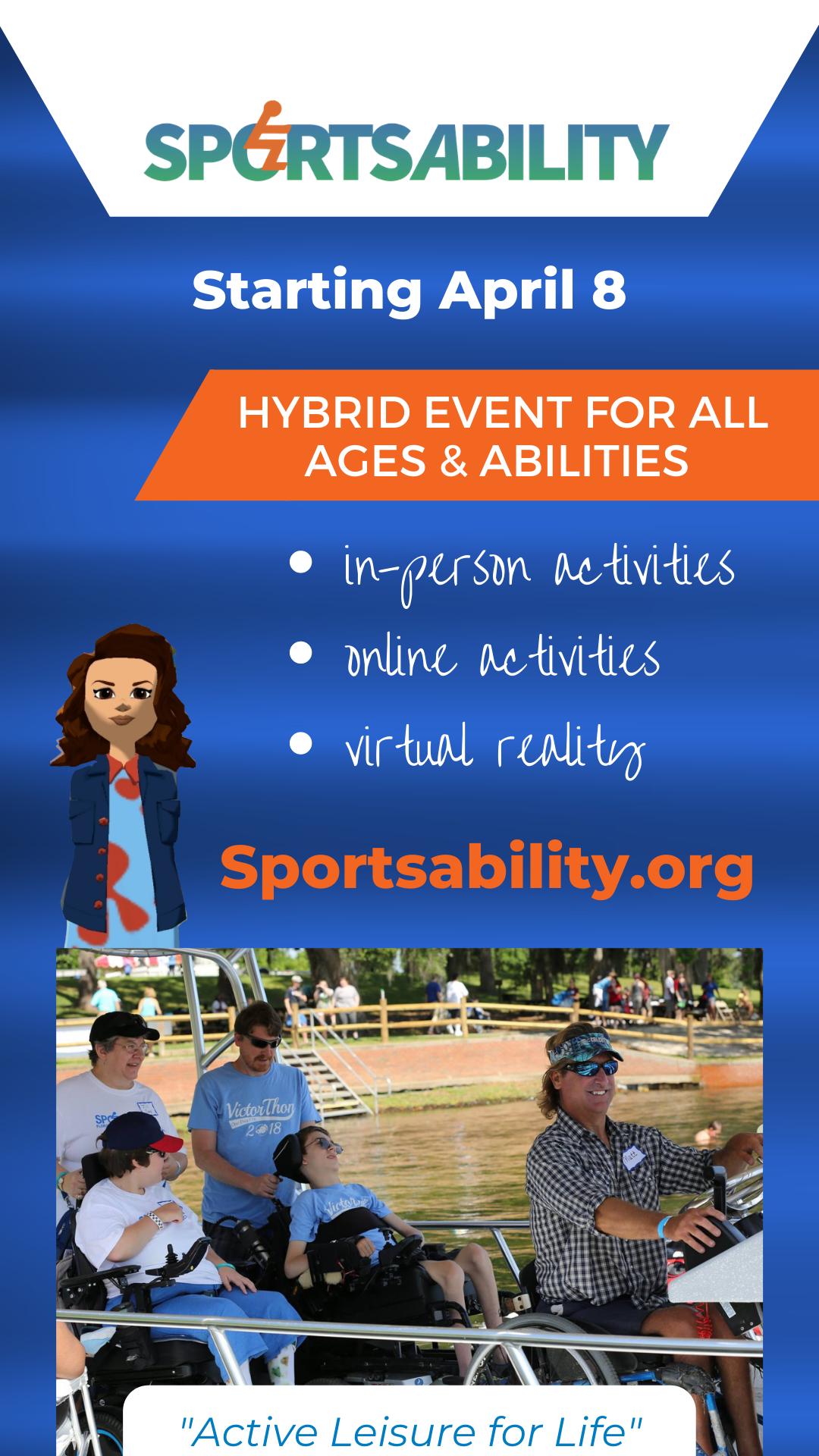 image of SportsAbility 2021 Hybrid Event