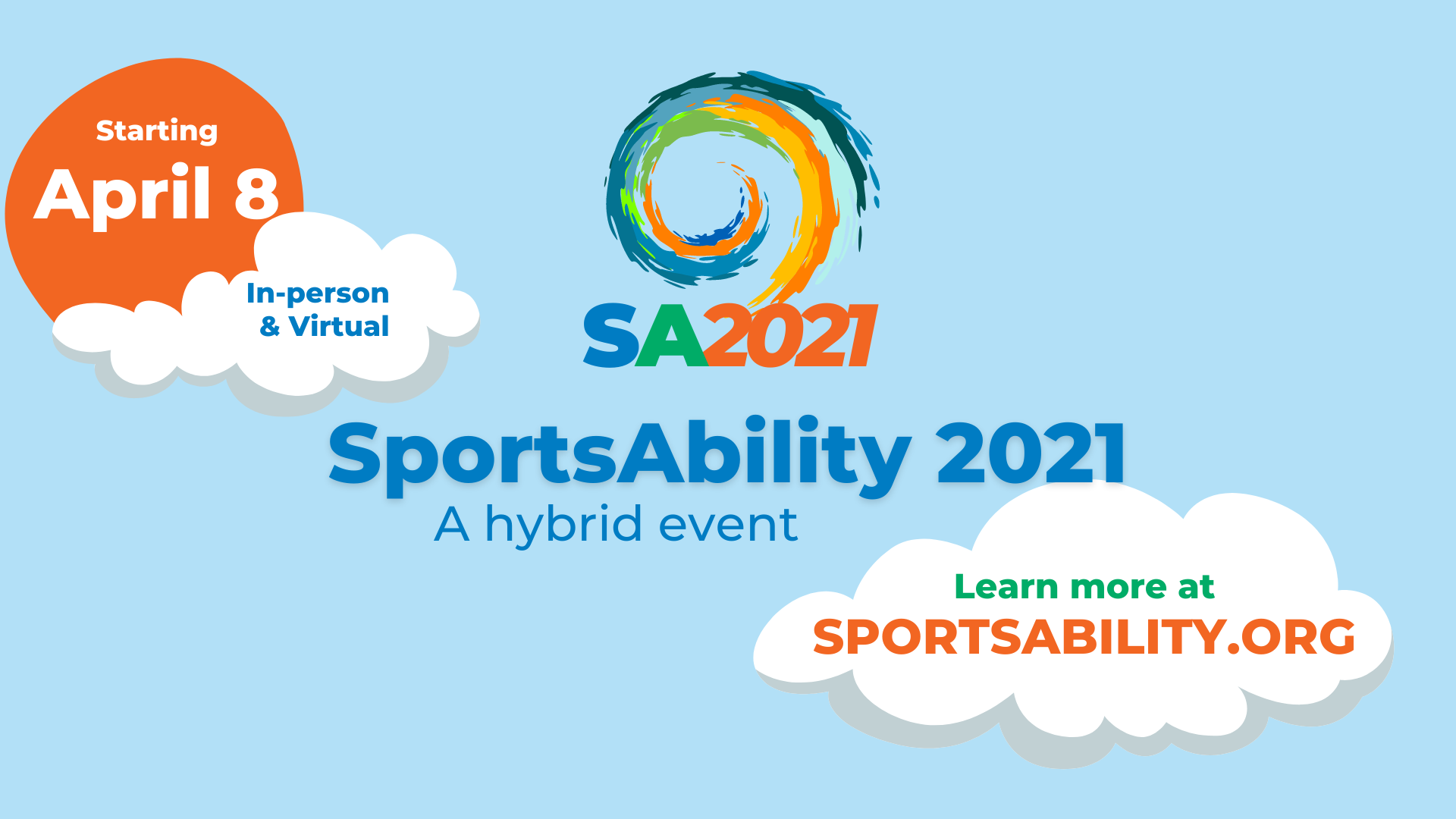 image of SportsAbility Event Dates slide