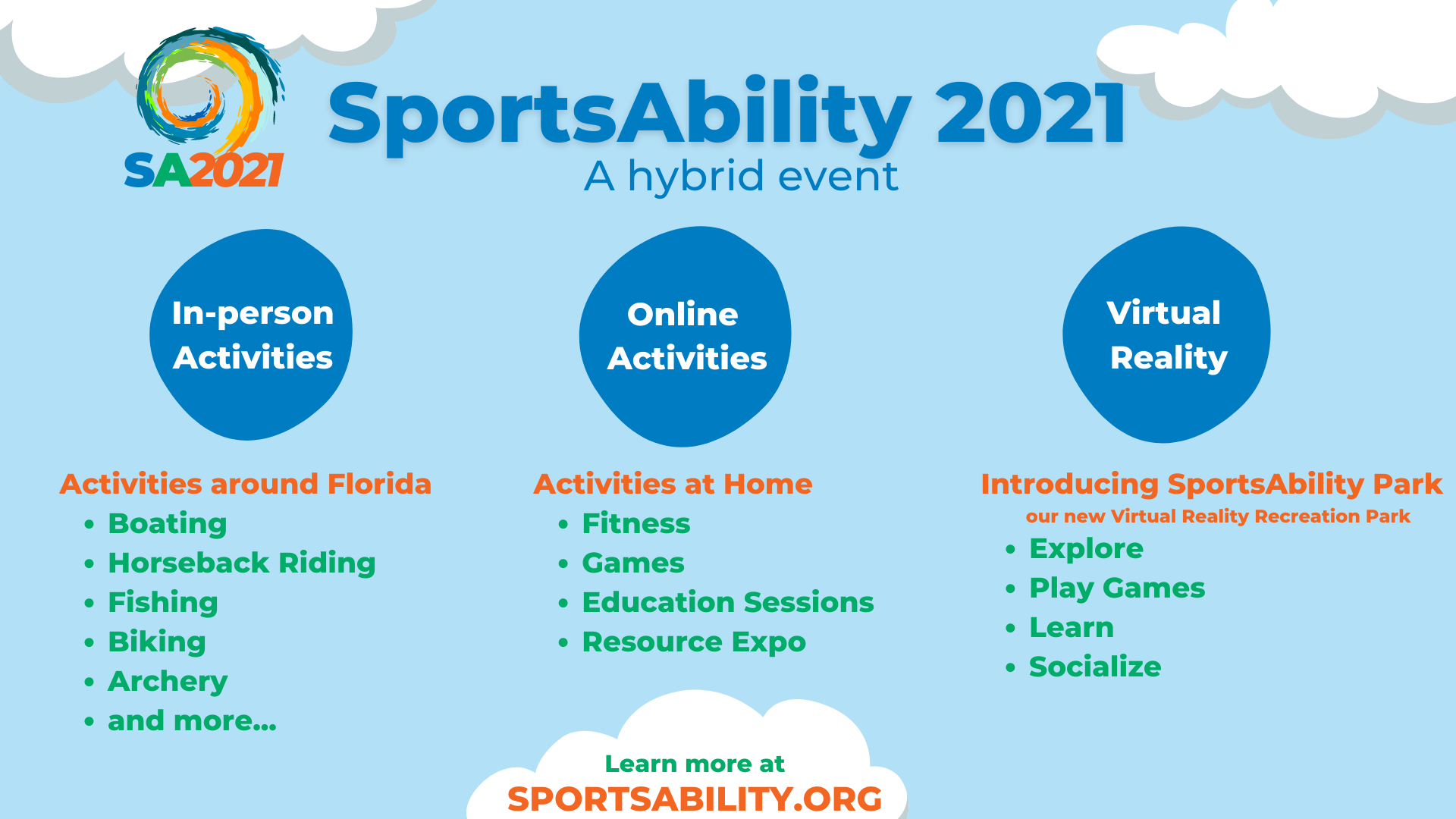 image of SportsAbility Activities slide